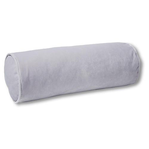 Anne Bolster Pillow, Violet Velvet