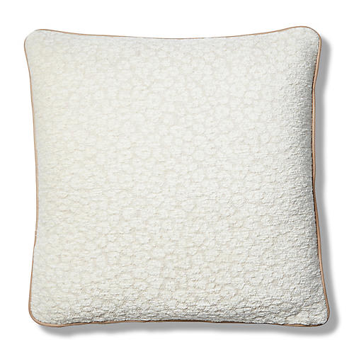 Grace 22x22 Pillow, Cream