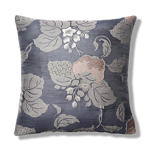 Willa 22x22 Pillow, Gray
