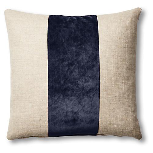 Blakely 19x19 Pillow, Natural/Uniform