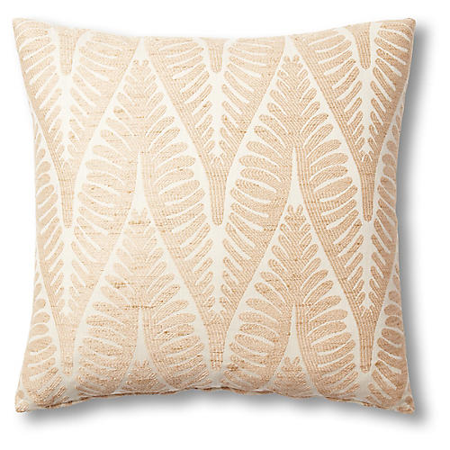 Kennedy 19x19 Pillow, Gold