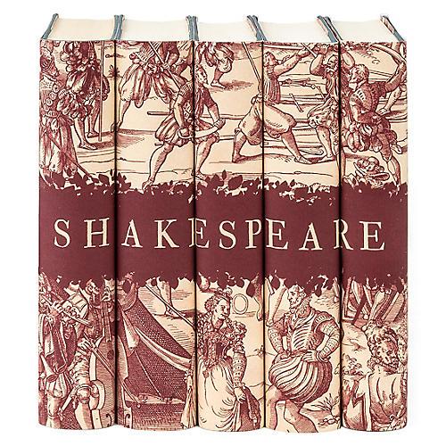 William Shakespeare Engraving Book Set