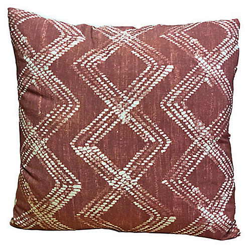 Sibella 20x20 Pillow, Terracotta