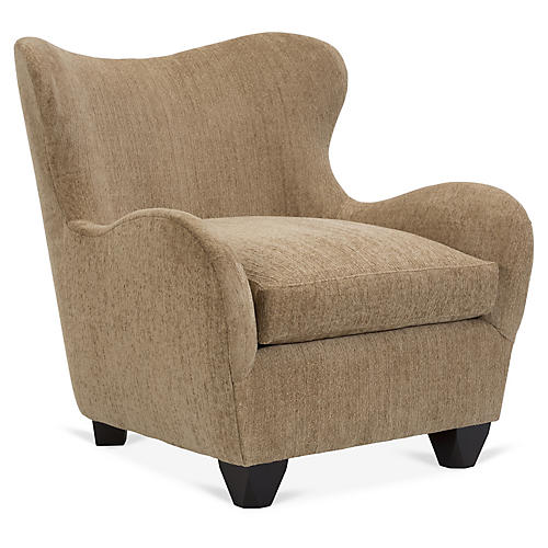 Zola Chair, Caramel Crypton