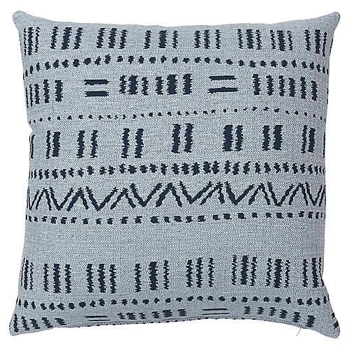 Haley 20x20 Pillow, Blue