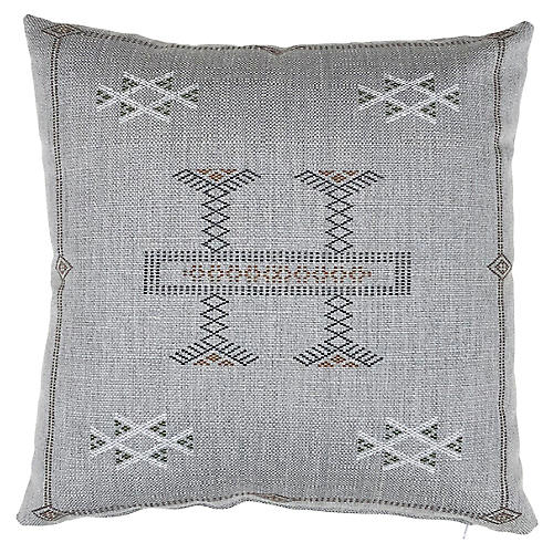 Isabelle 20x20 Pillow, Gray