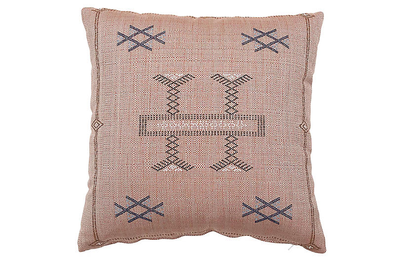 Isabelle 20x20 Pillow, Pink
