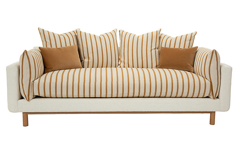 Sawyer Sofa, Nimbus Honey/Ivory