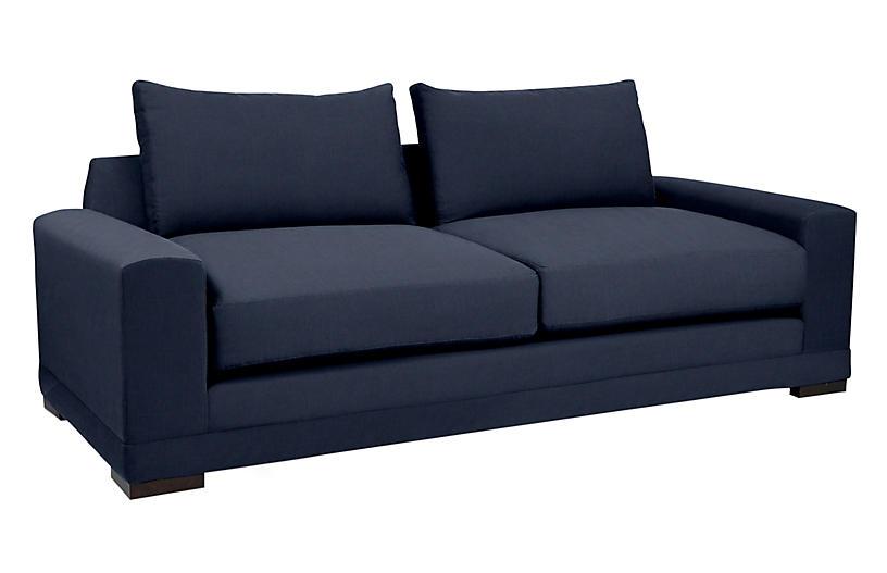 Morris Linen Sofa