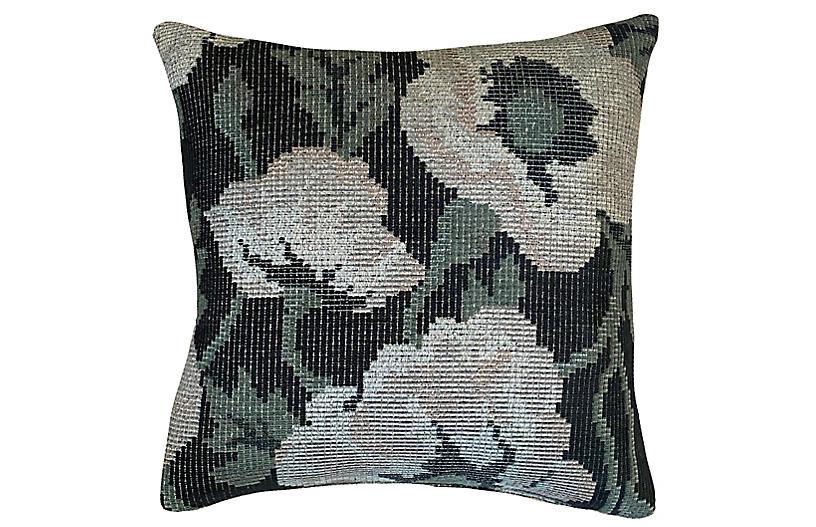 Waverly 20x20 Pillow, Green