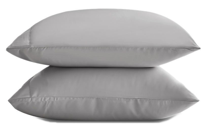 Eucalyptus Pillowcase Set, Dove