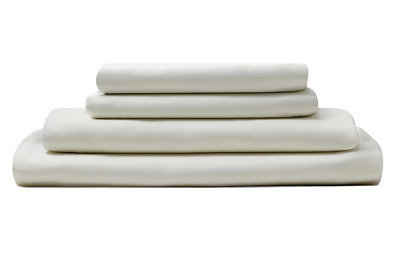 Eucalyptus Sheet Set, Ivory