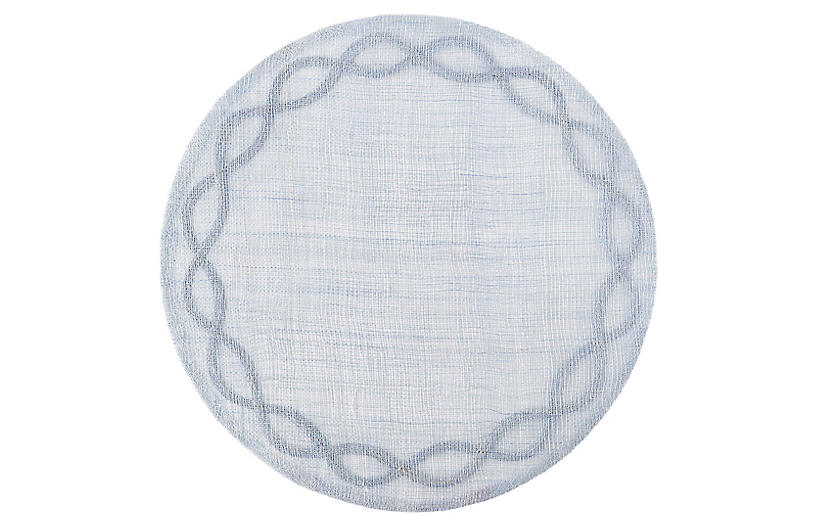 Tuileries Place Mat, Chambray