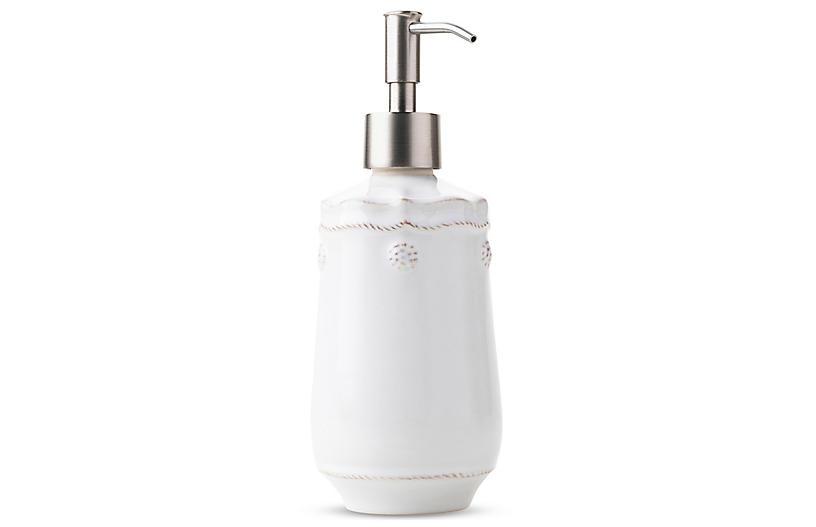 Berry & Thread White Soap/Lotion Dispenser