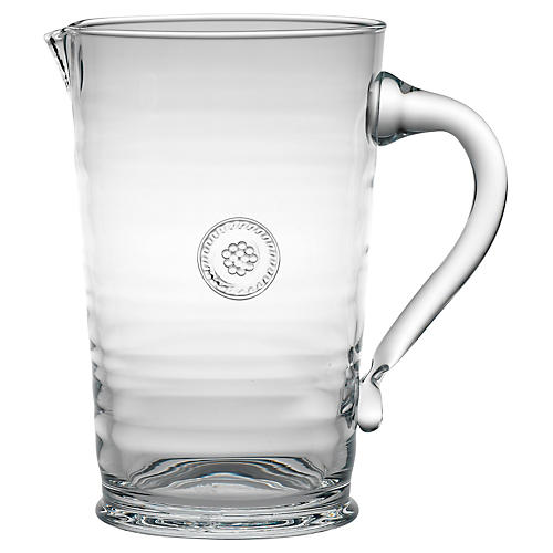 Berry & Thread Pitcher, Clear