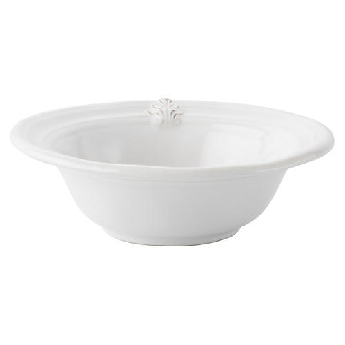 Acanthus Cereal Bowl, White