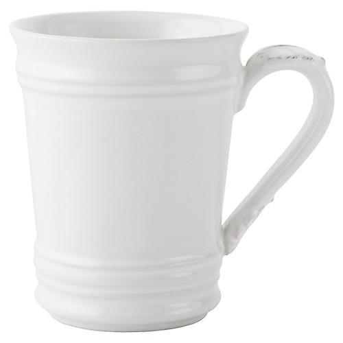 Acanthus Coffee Mug, White