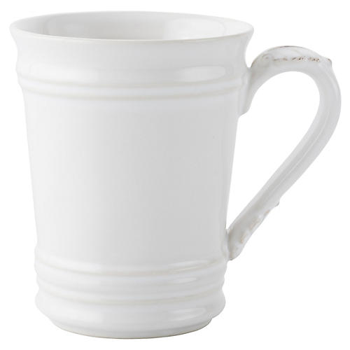 Acanthus Coffee Mug, White
