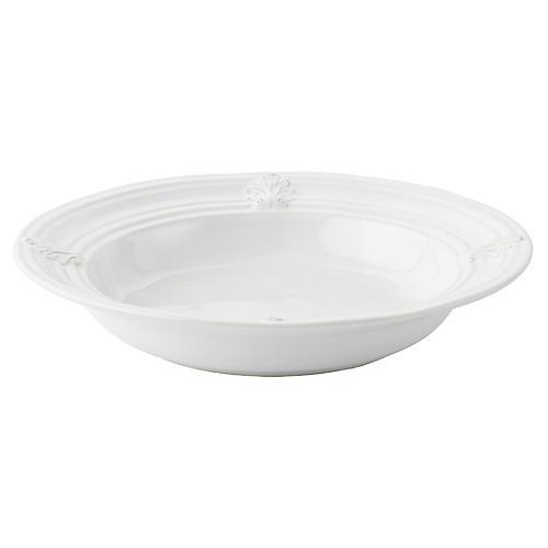 Acanthus Pasta Bowl, White