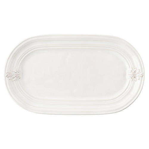 Acanthus Serving Tray, White