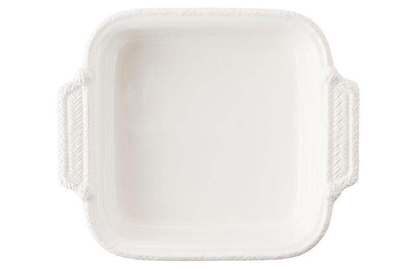 Le Panier Square Baker, White