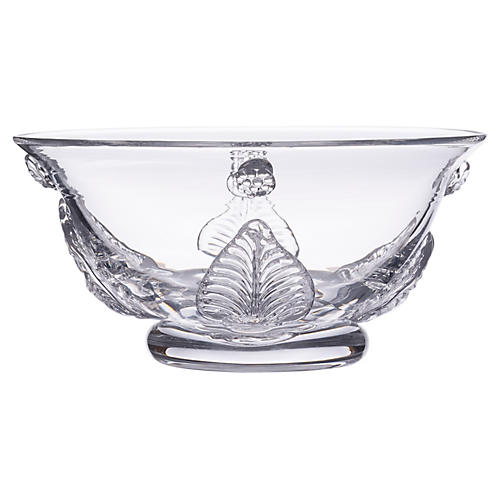 Acanthus Bowl, Clear