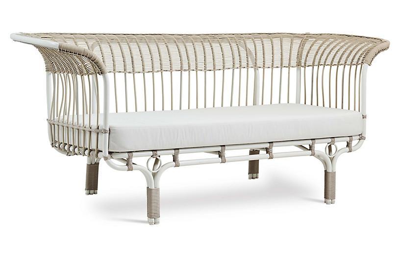 Franco Albini Outdoor Sofa, White