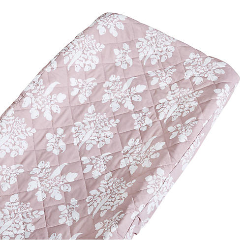 Inverse Parsnip Changing Pad Cover, Mauve