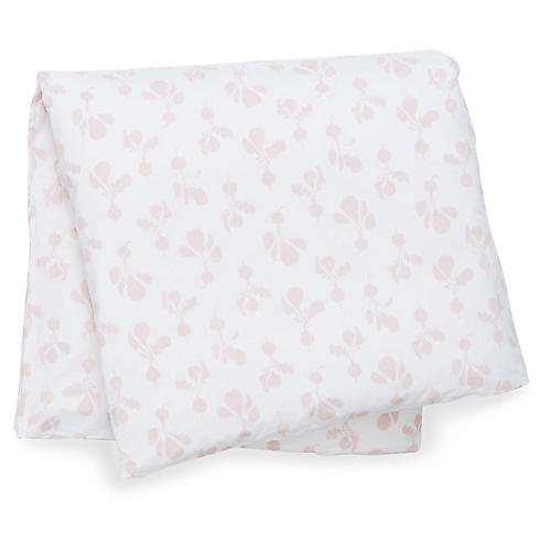 Radish Duvet Cover, Blush