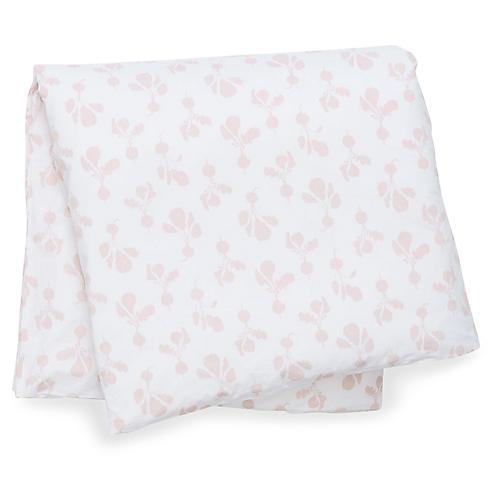 Radish Duvet Cover, Blush