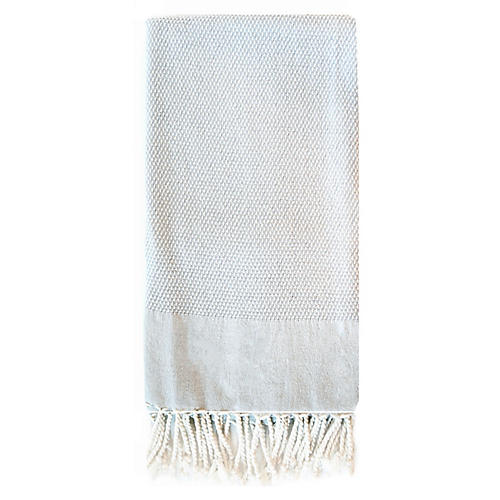 Basak Towel, Light Gray