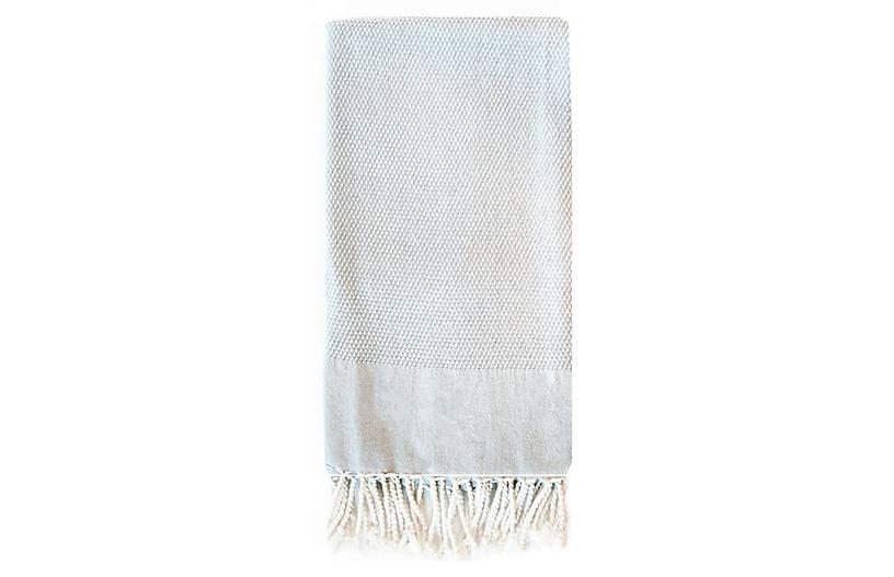 Basak Towel, Light Gray