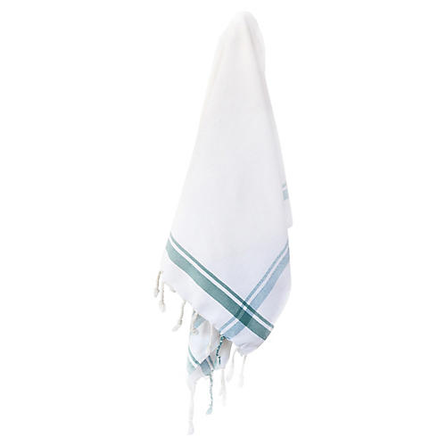Butcher Hand Towel, Teal