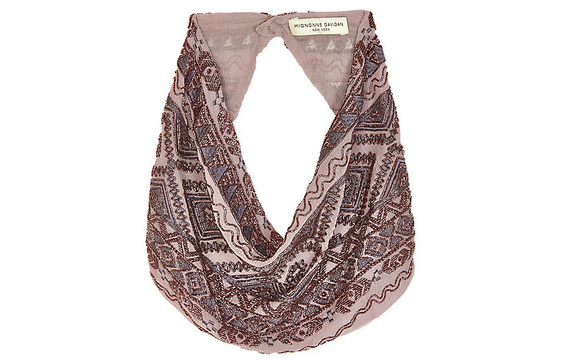 Smith Necklace, Mauve