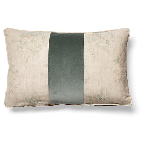 Shu 12x20 Pillow, Gris/Beige