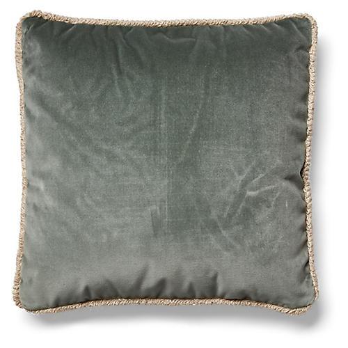 Bali Pillow, Gris Velvet
