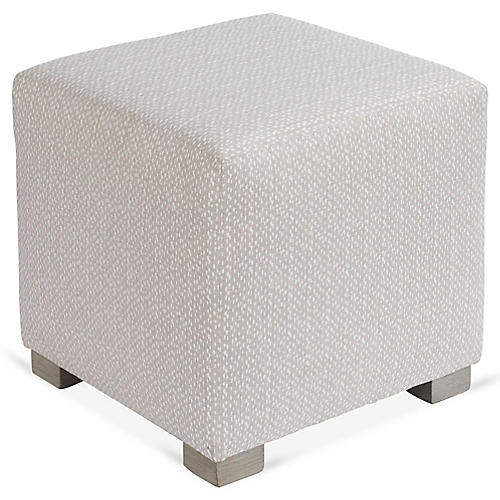 Canto Ottoman, French Gray