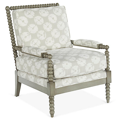 Bankwood Accent Chair, Gray