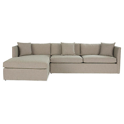 Jacobs Sectional, Ash