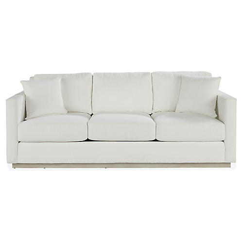 Highland Sofa, White