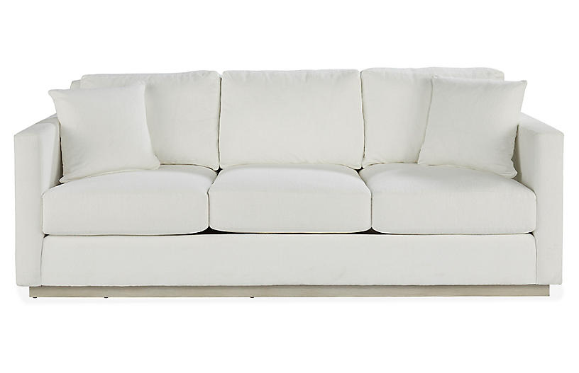 Highland Sofa, White