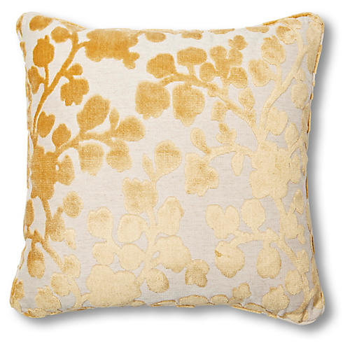 Mildred 20x20 Pillow, Citrine