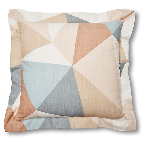 Chelsea 20x20 Pillow, Sandstone Geo