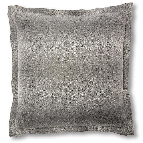 Layla 20x20 Pillow, Onyx
