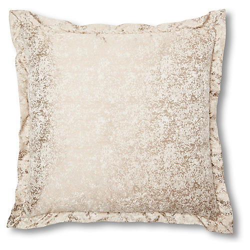 Frost 20x20 Pillow, Taupe