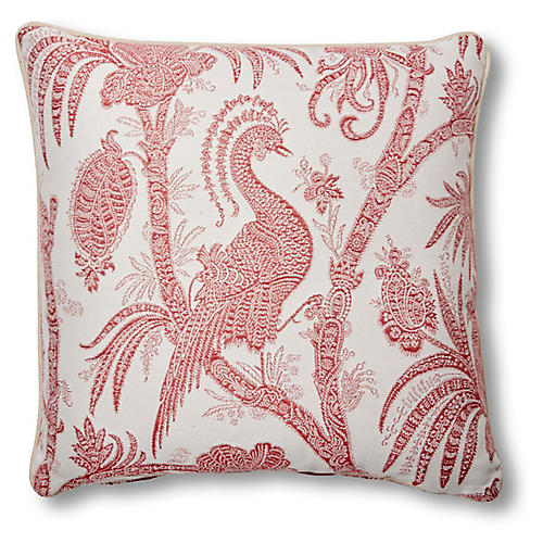 Harlow 20x20 Pillow, Cassis