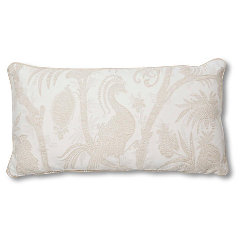Harlow 12x23 Lumbar Pillow, Glacier