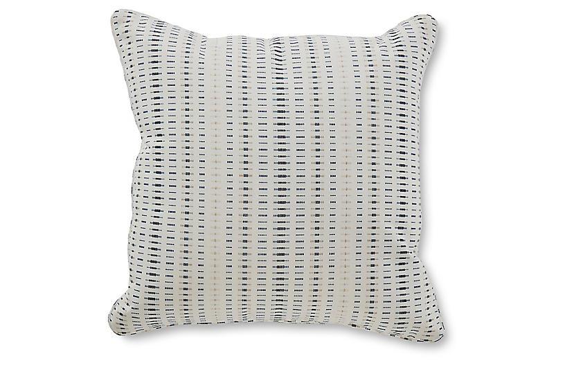 Kersey 18x18 Pillow, Ocean Sunbrella