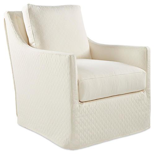 Elena Accent Chair, Natural