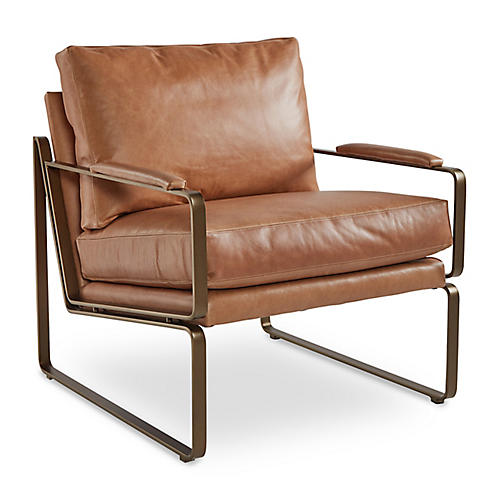 Henry Chair, Café Crypton Leather